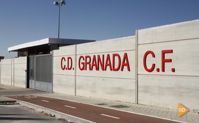 zona en obras de la ciudad deportiva Granada CF