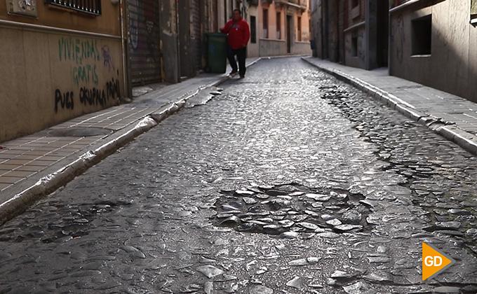 Barrio boqueron pavimento mal estado 01