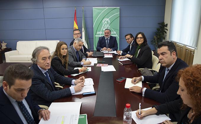Coordinación_delegados Junta en Granada