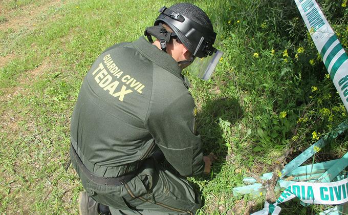 Guardia civil tedax