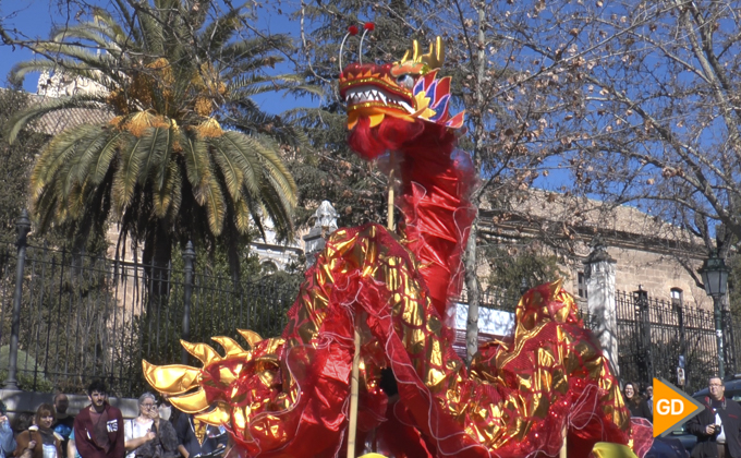 La UGR celebra el año nuevo chino con un pasacalles-1