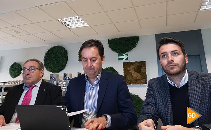 Pepe-Macanas-Antonio-Fernandez-Monterrubio-y-Fran-Sanchez-encuentro-informativo-granada-cf-nacho-santana