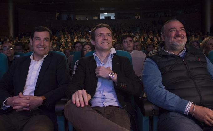 Presentacion de la candidatura del Sebastian Perez a la alcaldia de Granada Foto Antonio L Juárez-39