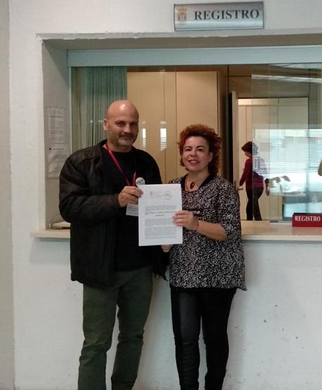 Presentando moción teleférico Diputación Recortada (1)