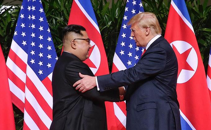 Trump y Kim Jong