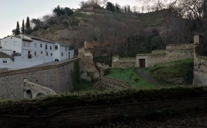 muro barranco fuentepeña