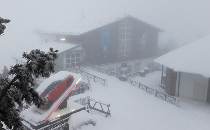 nieve sierra nevada