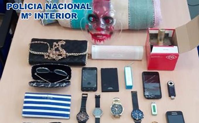 objetos robado albaicin