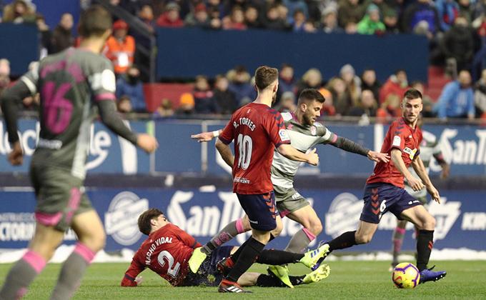 osasuna vs Granada CF -laliga