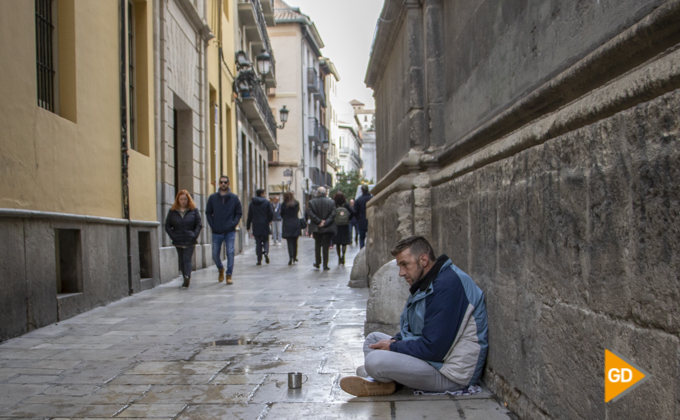 pobreza sin hogar granada