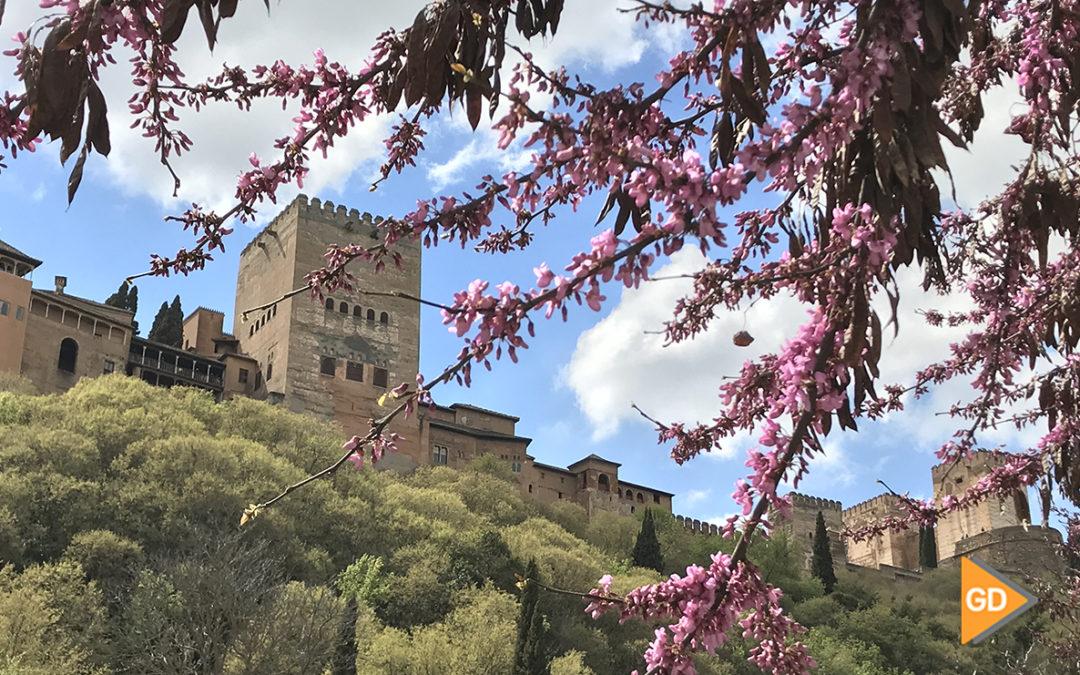La primavera llega a Granada con máximas de 18 grados
