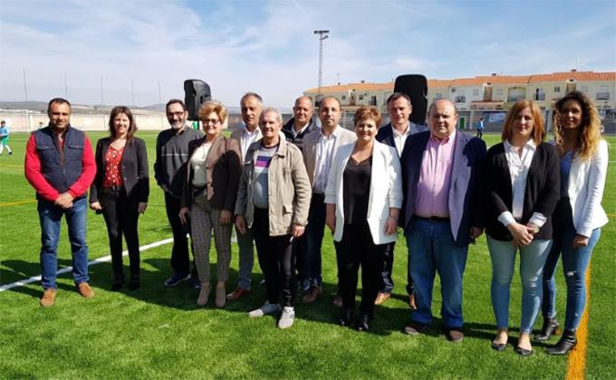 Inauguración campo fútbol Iznalloz 2.3.18