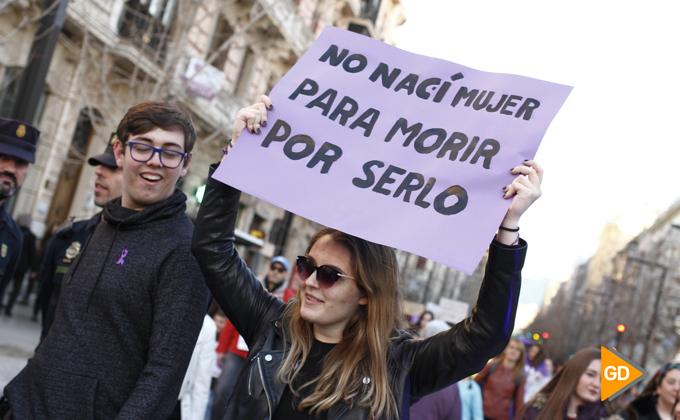 Manifestacion por el 8 M