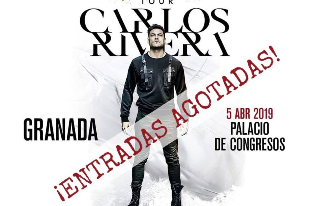 Concierto de Carlos Rivera en Granada