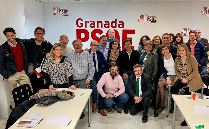 ejecutiva psoe Granada