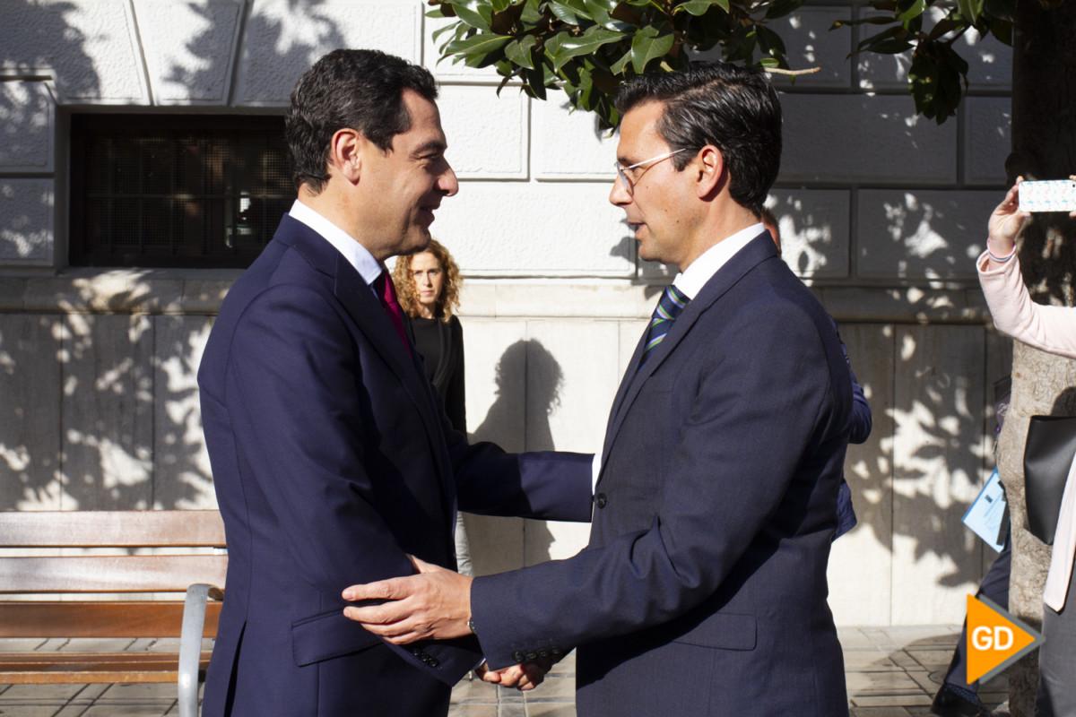 encuentro de Paco Cuenca y Juanma Moreno Foto Antonio L Juarez-5222