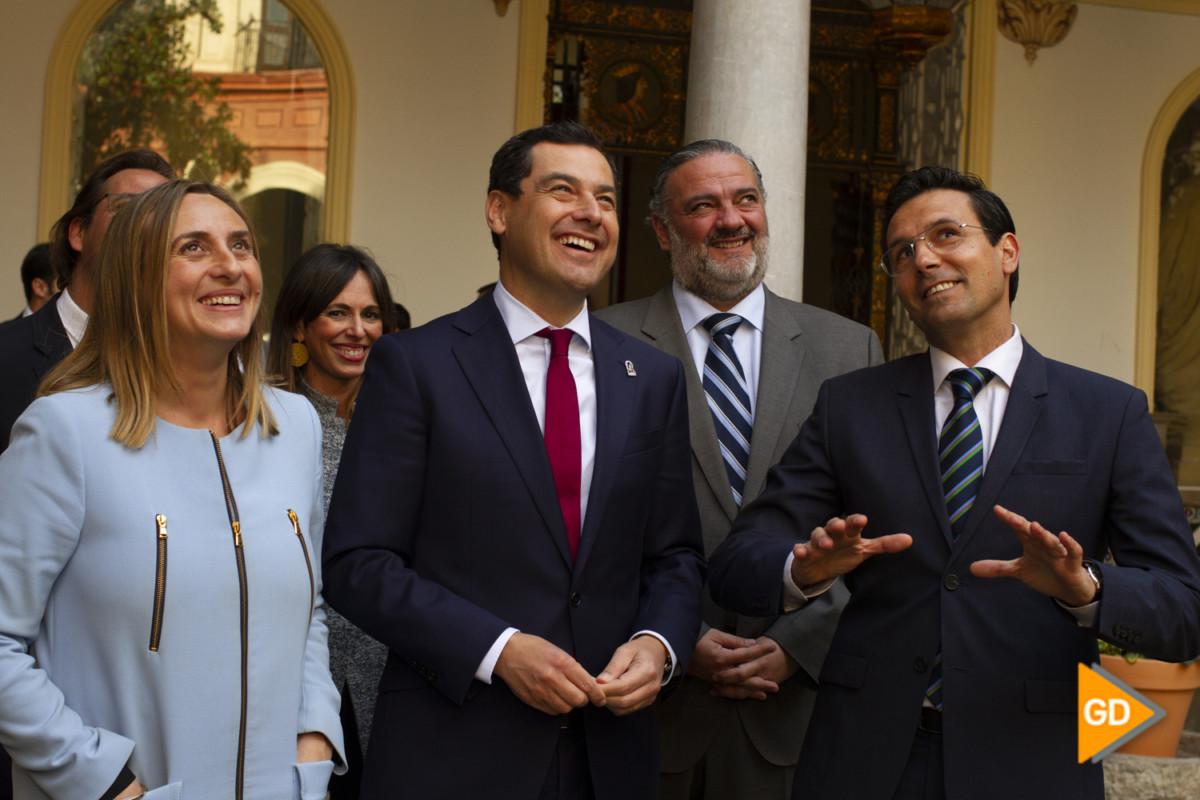 encuentro de Paco Cuenca y Juanma Moreno Foto Antonio L Juarez-5239