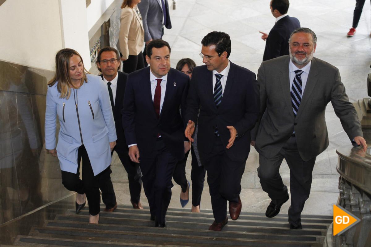 encuentro de Paco Cuenca y Juanma Moreno Foto Antonio L Juarez-5258