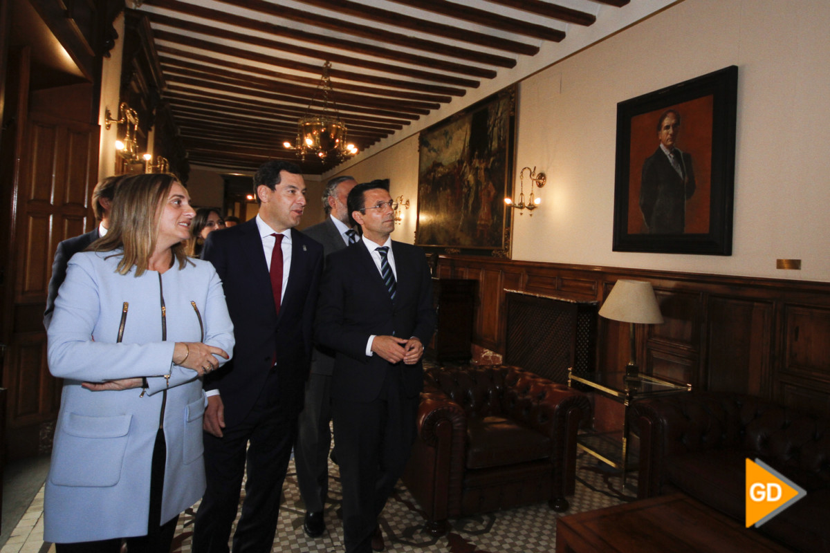encuentro de Paco Cuenca y Juanma Moreno Foto Antonio L Juarez-5315