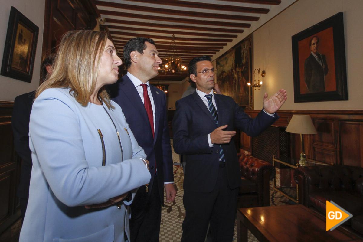 encuentro de Paco Cuenca y Juanma Moreno Foto Antonio L Juarez-5325