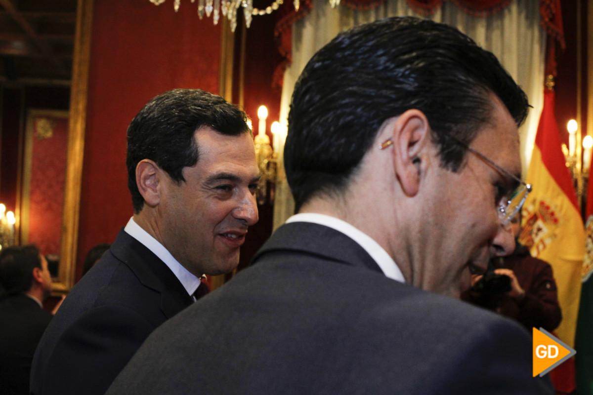 encuentro de Paco Cuenca y Juanma Moreno Foto Antonio L Juarez-5489