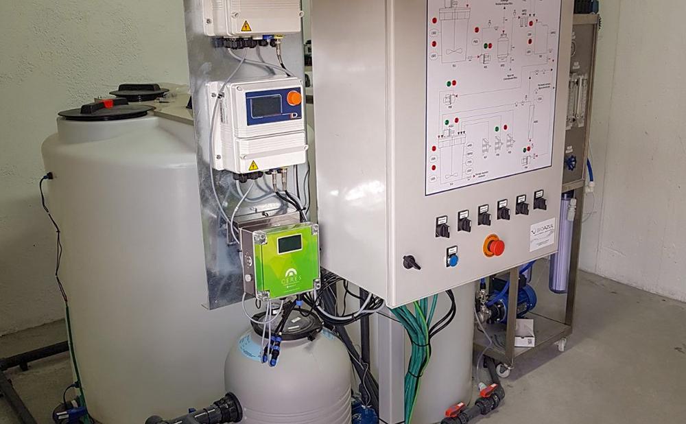estación de tratamiento aguas residuales