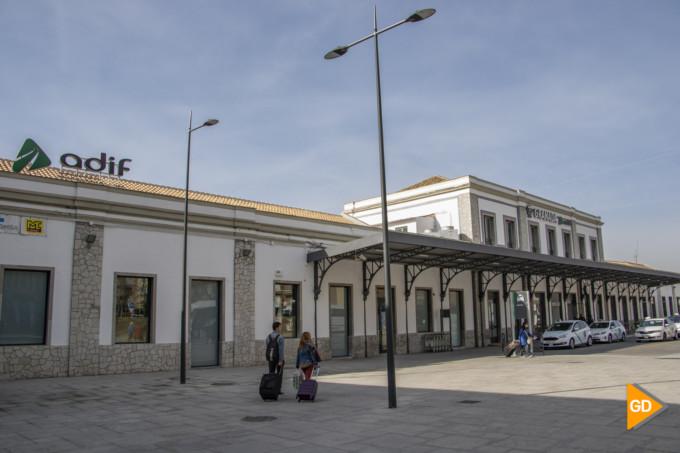 estacion tren adif granada ave transporte