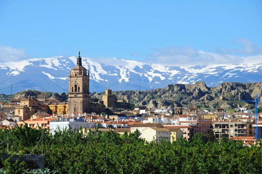View of Spanish town, Guadix © Arena Photo UK