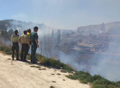 incendio guardia civil