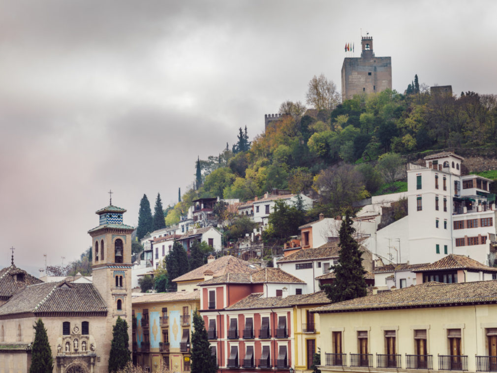 Plaza de Santa Ana, Granada, Spain