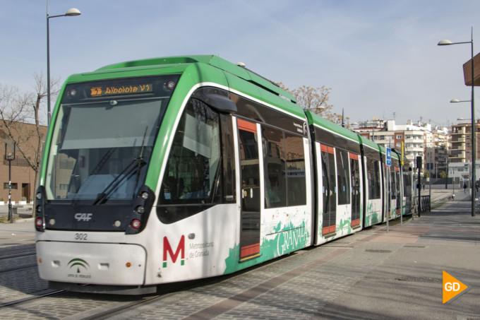 metro granada metropolitano transporte publico movilidad paseillos parada