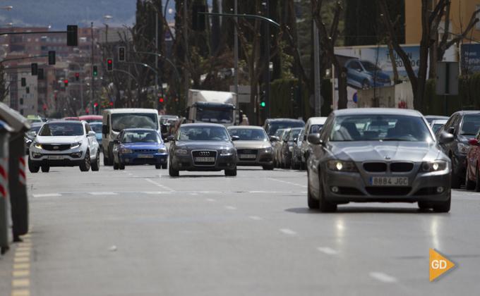trafico por Granada