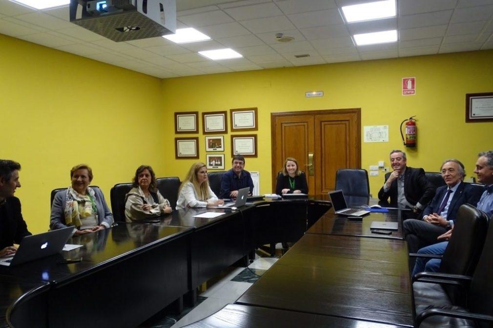 Nuevo equipo directivo de la EASP, con Blanca Fernández-Capel al frente