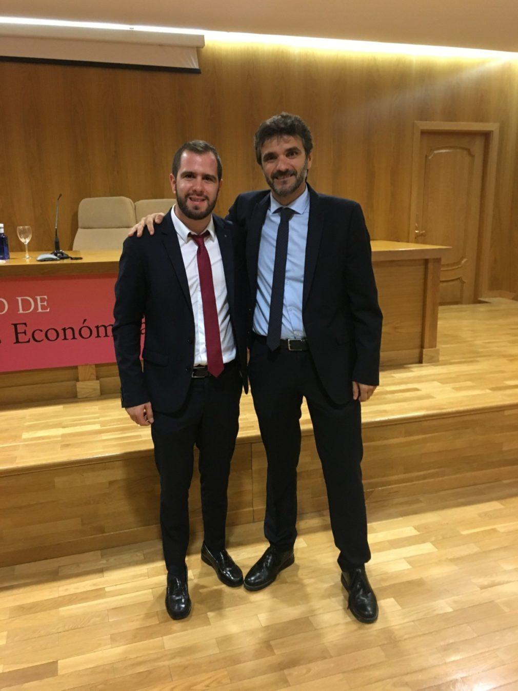 Juan Sánchez y Luis Casado, investigadores de la UGR