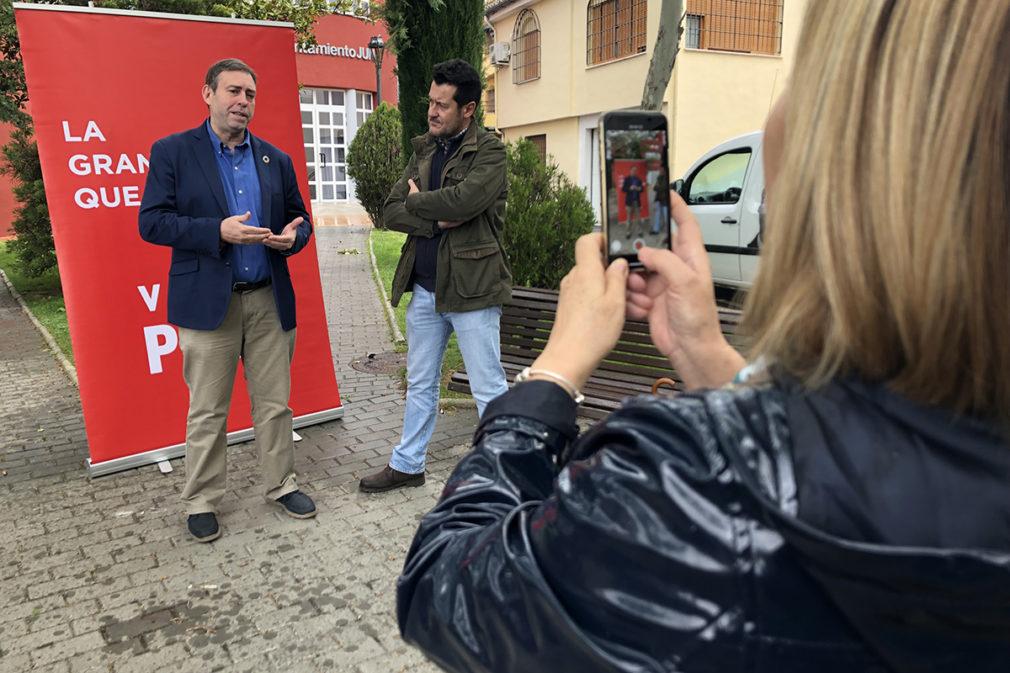 José Antonio Rodríguez Salas y Alejandro Zubeldia PSOE
