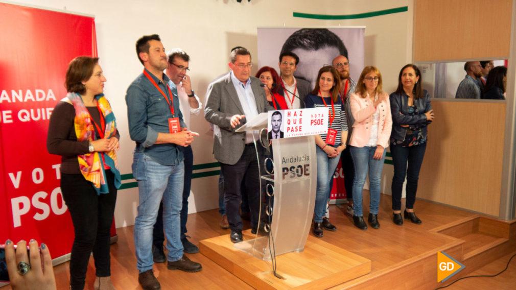 PSOE noche electoral