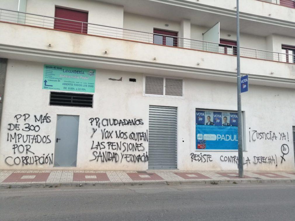 Pintadas sede local PP Padul