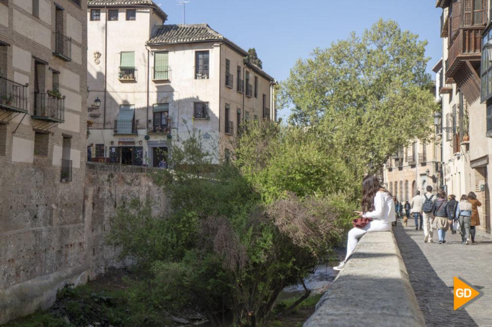 Primavera granada alhambra flores darro paseo tristes plaza nueva turismo buen tiempo-13
