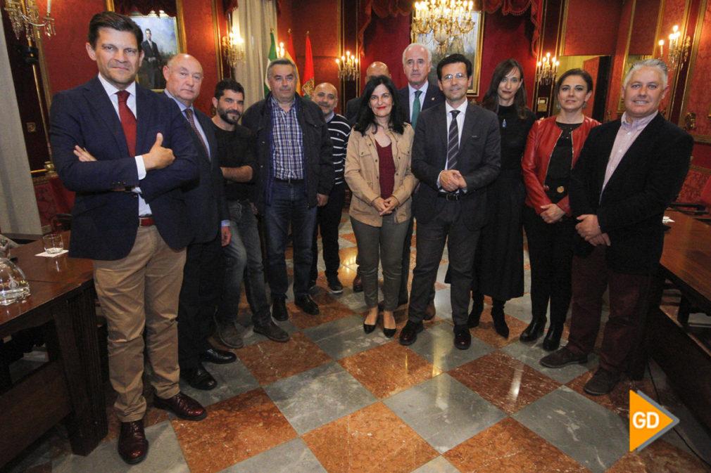 Reunión Mesa por el AVE - Antonio L Juárez