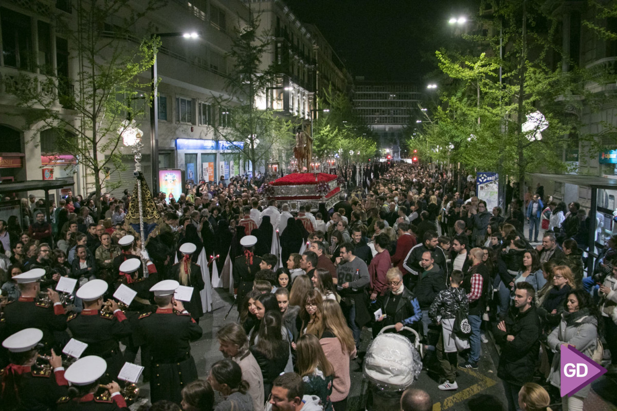 Semana Santa Granada 2019 Miércoles Santo-30