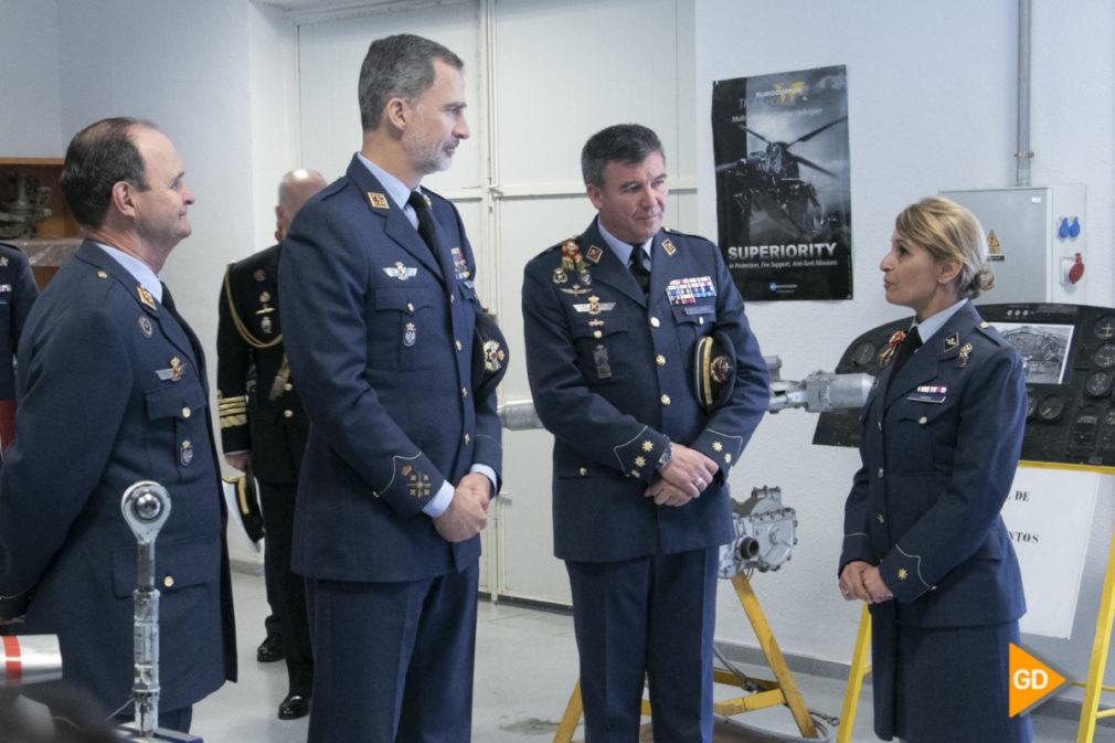 Visita de Felipe VI a la base aerea de Armilla Foto Antonio L Juarez-3461