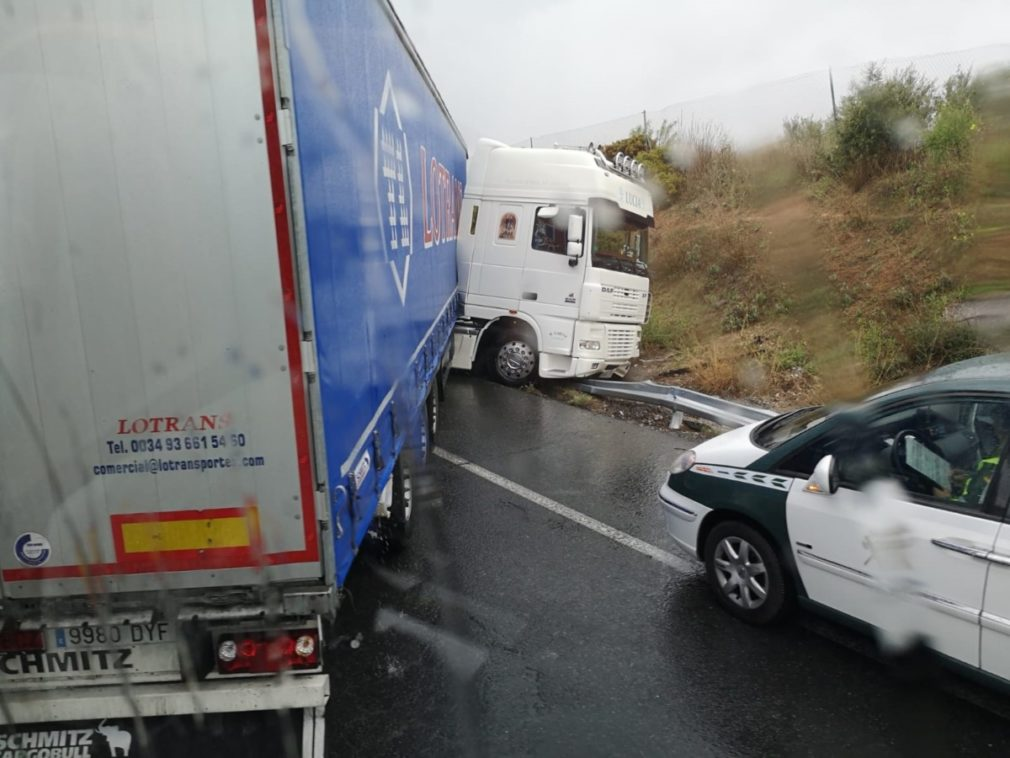 accidente camion albolote