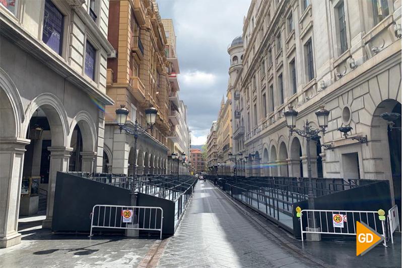 palco Ganivet Semana Santa 2019