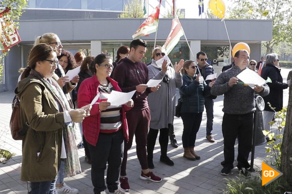 protesta por los cursos de formacion -10
