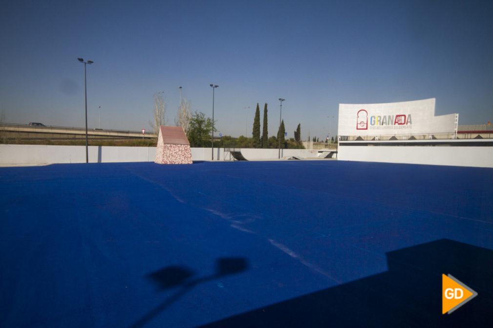 remodelacion del botellodromo de Granada