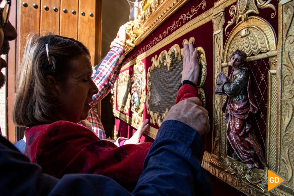 taller multisensorial de la iglesia San Juan de los Reyes