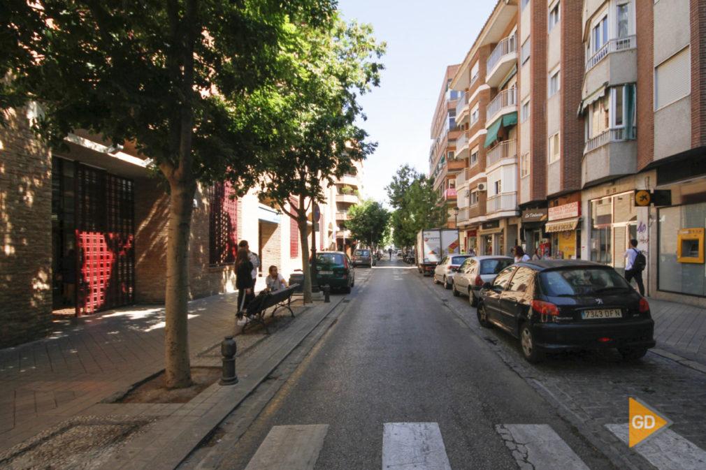 Calle San Juan de Dios en Granada