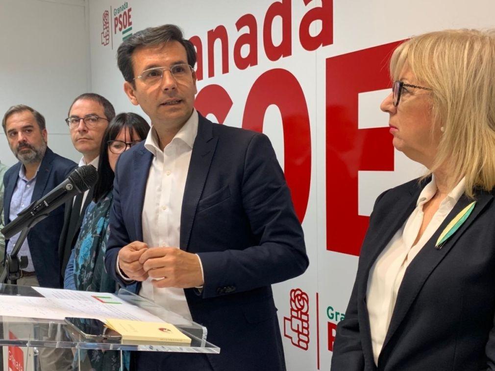 El alcalde y candidato a la reelección por el PSOE, Francisco Cuenca