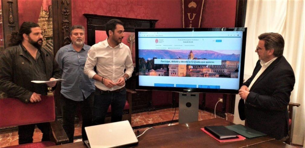 ANDALUCÍA.-Granada.- El Ayuntamiento crea un portal web de participación ciudadana