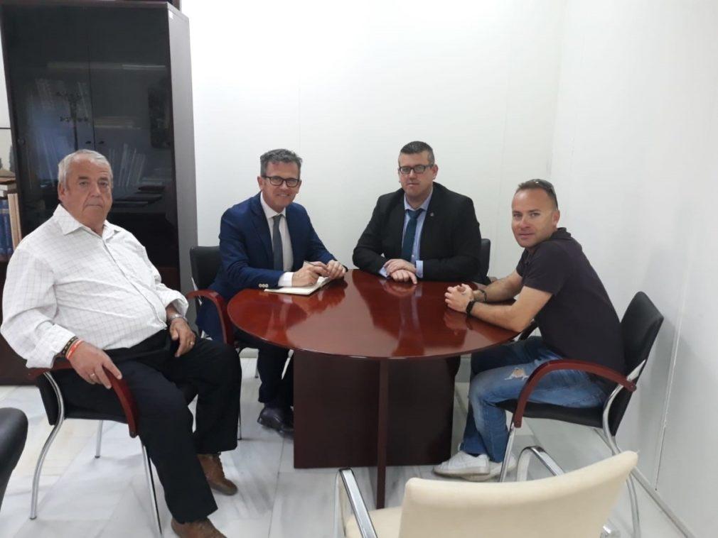 Reunión entre la Junta y el Ayuntamiento de Quéntar